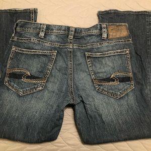 Men's Zac Silver Jeans 36